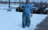 How did we measure the snowfall on 12/20/12?  With our Otis-ometer named Snowtis of course. 1