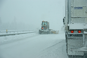 Highway Department expecting more wind and snow