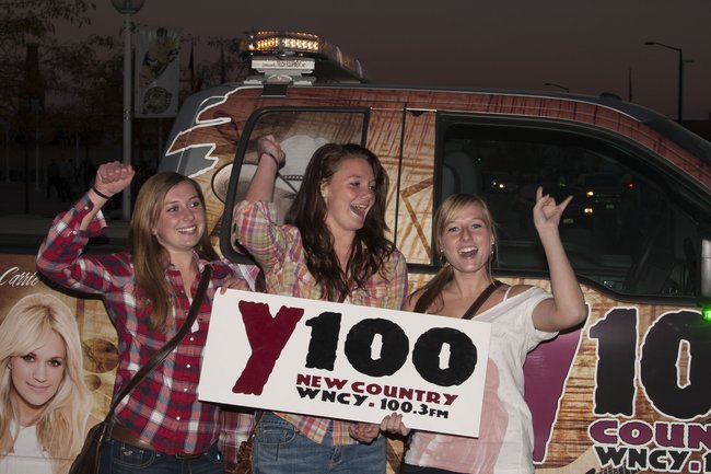 Y100 on the road