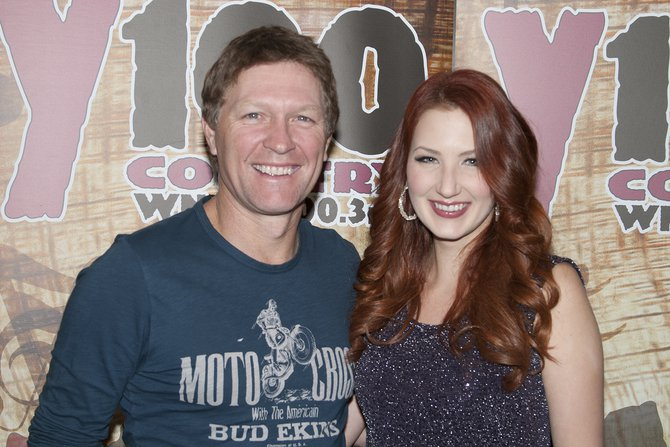 Craig Morgan and Katie Armiger at the Meyer Theater