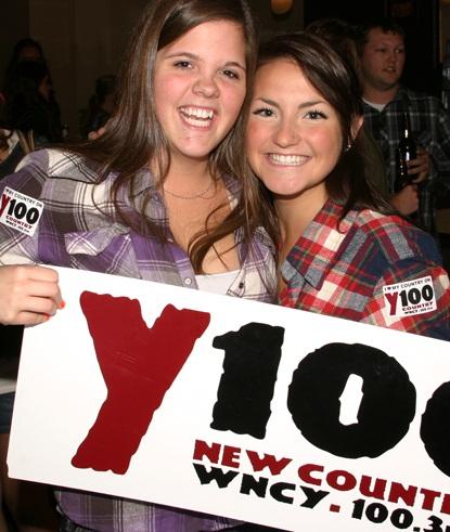 Y100 pre-concert party