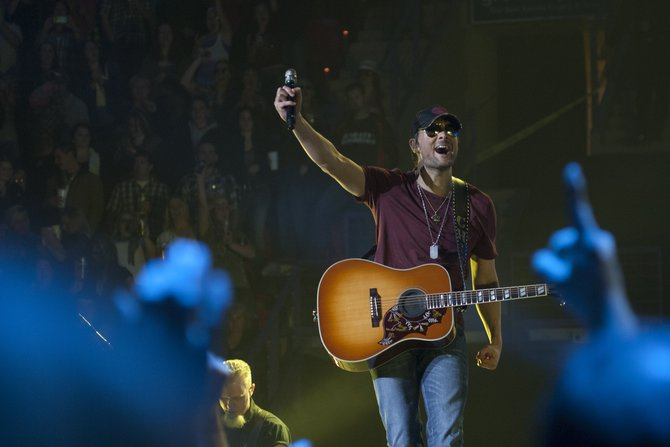 Eric Church at the Resch Center