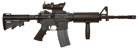 Assault rifle (courtesy of Wikipedia)