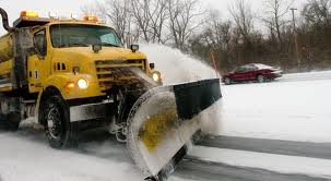 INDOT snow plow