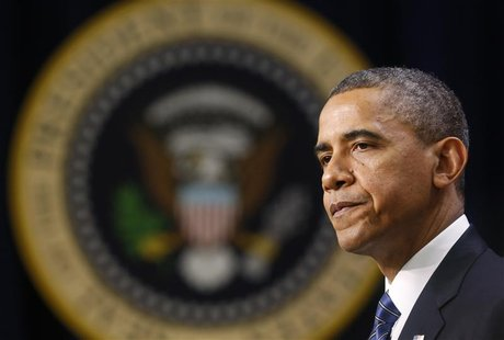 President Barack Obama delivers remarks at the White House in Washington November 28, 2012. REUTERS/Kevin Lamarque