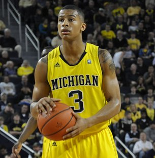 Michigan Guard Trey Burke.