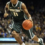 Keith Appling and the Spartans lost 76-63 to Minnesota.