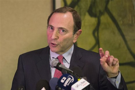 National Hockey League (NHL) Commissioner Gary Bettman describes negotiations between the NHL and the NHL Players Association (NHLPA) regard
