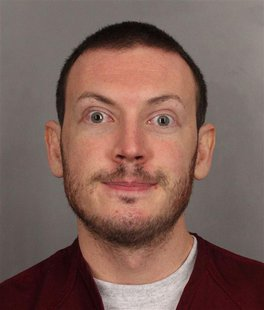 James Holmes, suspect in a July 20 shooting rampage at a movie theatre which left 12 people dead and 70 more wounded, is seen in this undate