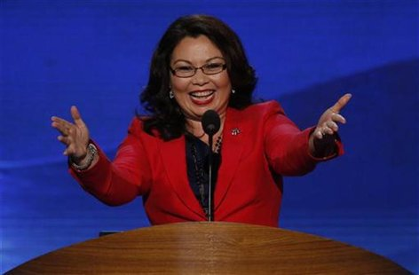 U.S. congressional candidate Tammy Duckworth (D-IL), former Assistant Secretary of the U.S. Department of Veterans Affairs, who lost both of