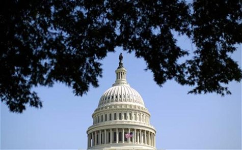 The dome of the U.S. Capitol is seen in Washington September 25, 2012. REUTERS/Kevin Lamarque
