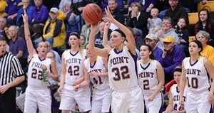 UW-Stevens Point Women's Basketball 2012-13.  Photo courtesy UWSP Athletics