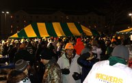 Y100 Tailgate Party at Brett Favre's Steakhouse :: Packers vs. Vikings :: Playoffs! 12