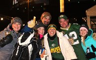 WTAQ Photo Coverage :: Packers Game Day :: Playoff Win Over Vikings 1