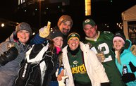 Y100 Tailgate Party at Brett Favre's Steakhouse :: Packers vs. Vikings :: Playoffs! 2