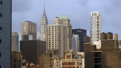 The skyline of lower Manhattan is seen in New York August 6, 2012. REUTERS/Charles Platiau