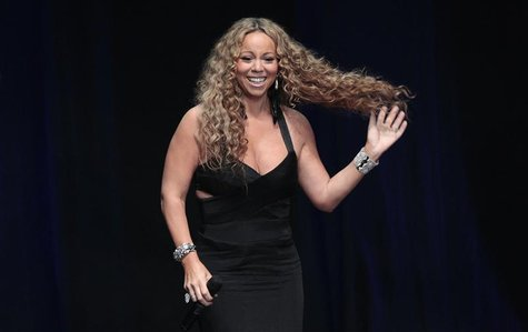 Recording artist Mariah Carey accepts the 2012 Icon Award at BMI?s annual Urban Music Awards at the Saban theatre in Beverly Hills, Californ