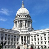 The Wisconsin State Capitol in Madison. (properly sized)