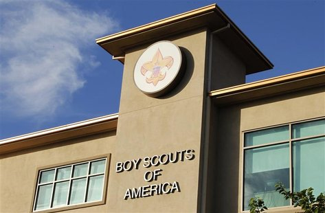 The Cushman Watt Scout Center, headquarters of the Boy Scouts of America for the Los Angeles Area Council, is shown in Los Angeles, Californ