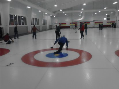 The Wausau Curling Club's new facility, completed in early 2013.