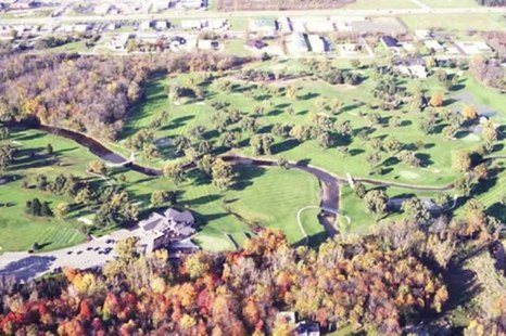 Aerial View of Holland Country Club Site (photo courtesy Ottawa Co. Parks & Recreation Dept.)
