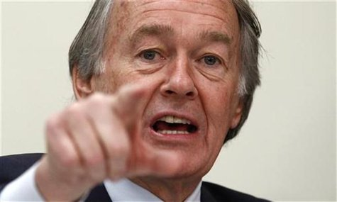 House Energy and Power Subcommittee member Ed Markey (D-MA) speaks during the committee's second hearing on the Keystone XL Pipeline on Capi