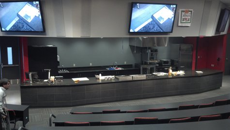 The Jones Dairy Farm Culinary Theatre at Fox Valley Technical College on January 10, 2013.