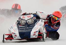 World Championship Snowmobile Derby at Eagle River Wisconsin, photo courtesy of Travel Wisconsin.