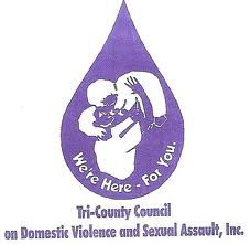 Tri-County Council on Domestic Violence & Sexual Assault logo