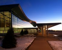New Duluth Airport Terminal Building