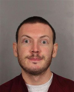 James Holmes is seen in this undated police handout photo. REUTERS/Arapahoe County Sheriff's Office/Handout