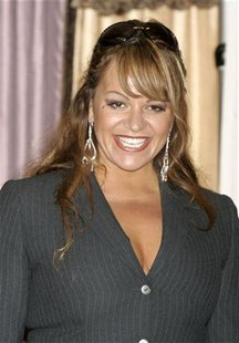 "Singer Jenny Rivera attends a news conference announcing the nominees for the El Premio De La Gente (""Latin Music Fan Awards 2005"") at the B"