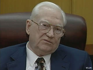 Former Green Bay Mayor Sam Halloin (courtesy of FOX 11).