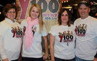 Rascal Flatts, The Band Perry, and Kristen Kelly at the Resch Center on 1/10/13 With Y100 30