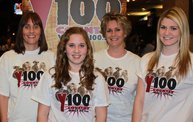 Rascal Flatts, The Band Perry, and Kristen Kelly at the Resch Center on 1/10/13 With Y100 3