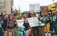 Packer Pep Rally in Downtown Green Bay 8