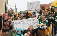 Packer Pep Rally in Downtown Green Bay 7