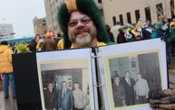 Packer Pep Rally in Downtown Green Bay 1