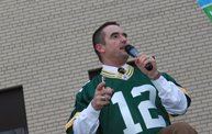 Packer Pep Rally in Downtown Green Bay 16