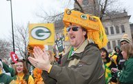 Packer Pep Rally in Downtown Green Bay: Cover Image