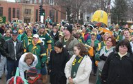 Packer Pep Rally in Downtown Green Bay 13