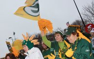Packer Pep Rally in Downtown Green Bay 12