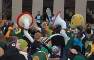 Packer Pep Rally in Downtown Green Bay 10