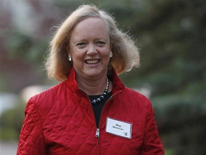Hewlett Packard CEO and President Meg Whitman attends the Allen & Co Media Conference in Sun Valley, Idaho July 12, 2012. REUTERS/Jim Urquha