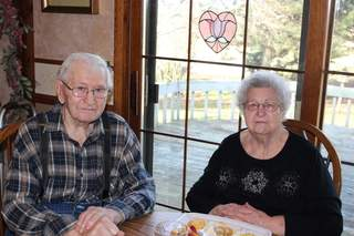 Ninety-year-old couple Eldore and Malinda Mielke died within 25 hours of each other this week. On Wednesday, January 9, 2013, their home was burglarized as their family planned their funerals. (courtesy of FOX 11).