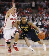 Trey Burke and Michigan came up short against OSU 56-53