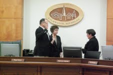 new members if City Council beign sworn In