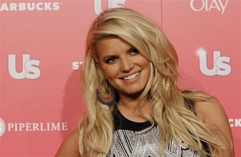 Actress and honoree Jessica Simpson poses at the US Weekly Hot Hollywood Style issue party in Hollywood, California, April 26, 2011. REUTERS