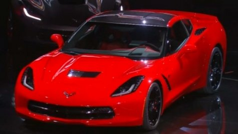 "2014 Corvette ""Stingray"".  They say if you could afford last year's model then you can probably afford this one too."