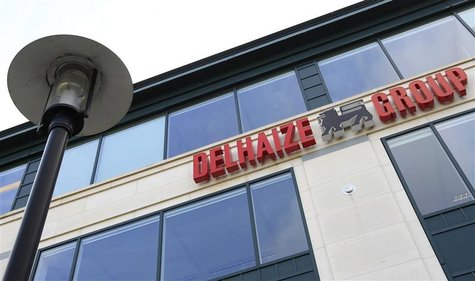 A view of the headquarters of Belgian supermarket chain Delhaize in Brussels March 8, 2012. REUTERS/Yves Herman